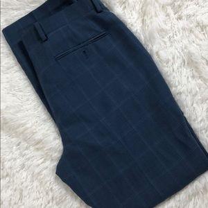 INC Slim Fit Striped Dress Pants